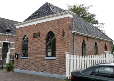 Verbouwing van de Synagoge