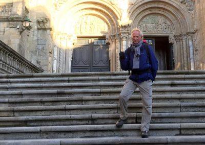 Als pelgrim op weg naar Santiago de Compostela